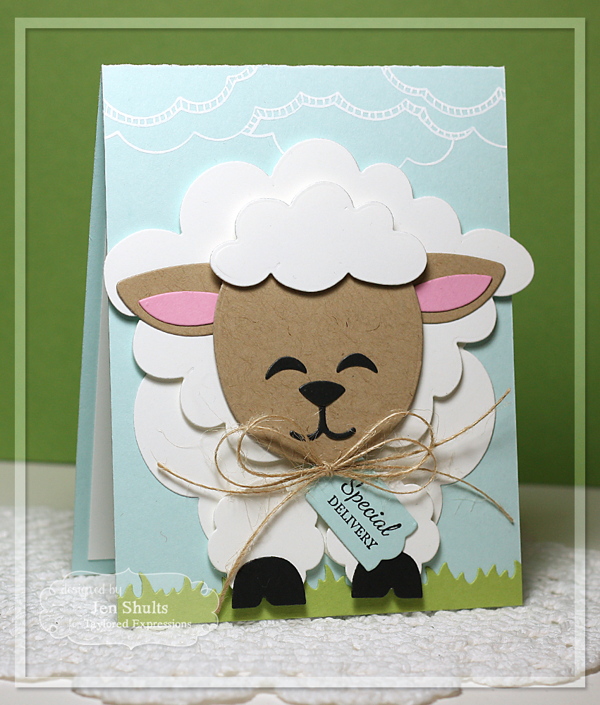 Taylored Expressions February Sneak Peeks: Tag Along Easter and Sack It - Lamb