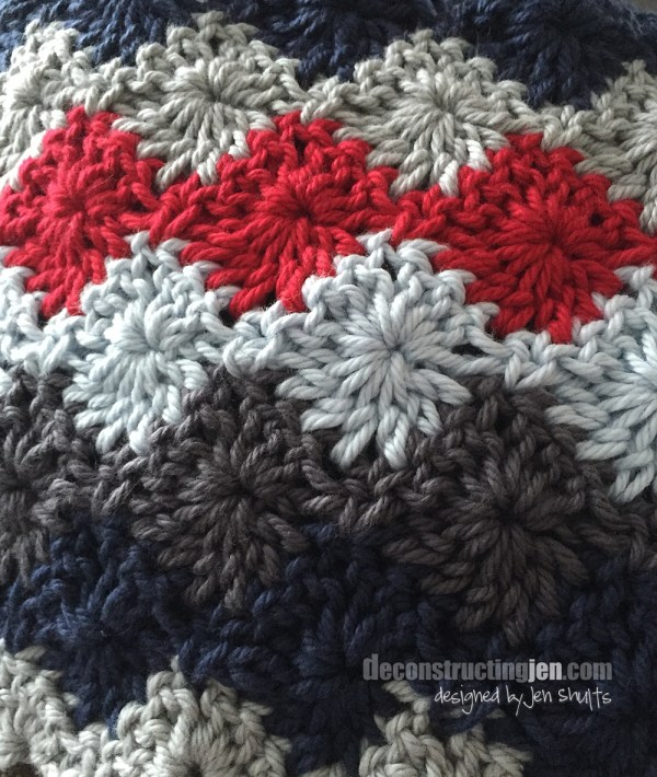 Harlequin Stitch Blanket by Jen Shults