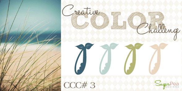 Sugar Pea Designs Creative Color Challenge 3