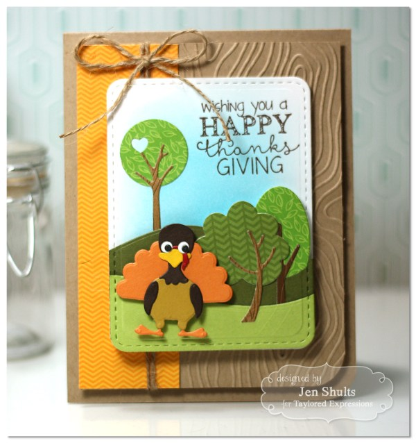 Happy Thanksgiving by Jen Shults