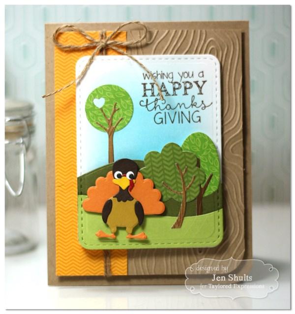 Happy Thanksgiving by Jen Shults
