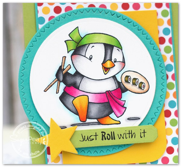 Just Roll With It by Jen Shults
