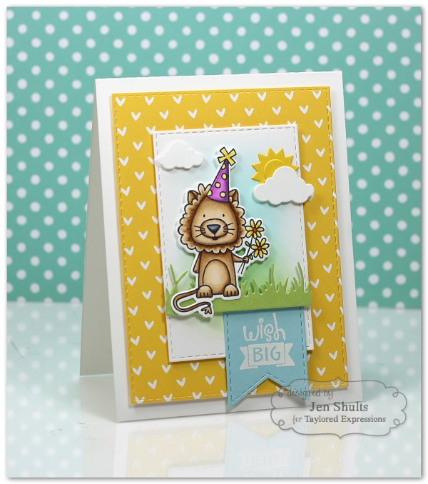 Wish Big by Jen Shults using Mane Event by Taylored Expressions