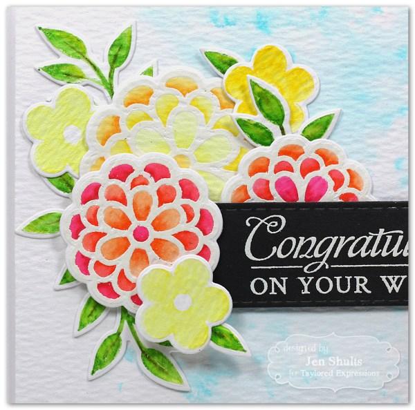 Congratulations by Jen Shults #handmade #handmadecard #tayloredexpressions