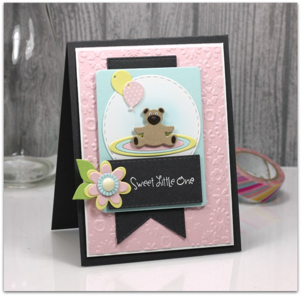 Sweet Little One by Jen Shults #tayloredexpressions #baby #handmadecard