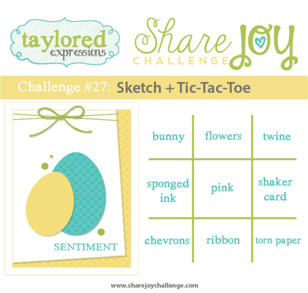 Share Joy Challenge 27 by Taylored Expressions