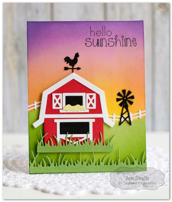 Hello Sunshine Build a Barn