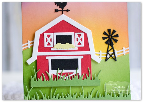 Hello Sunshine by Jen Shults, stamps and dies from Taylored Expressions