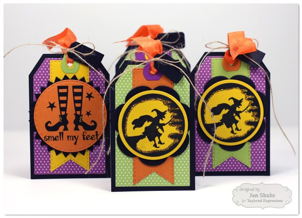 Halloween Tags by Jen Shults