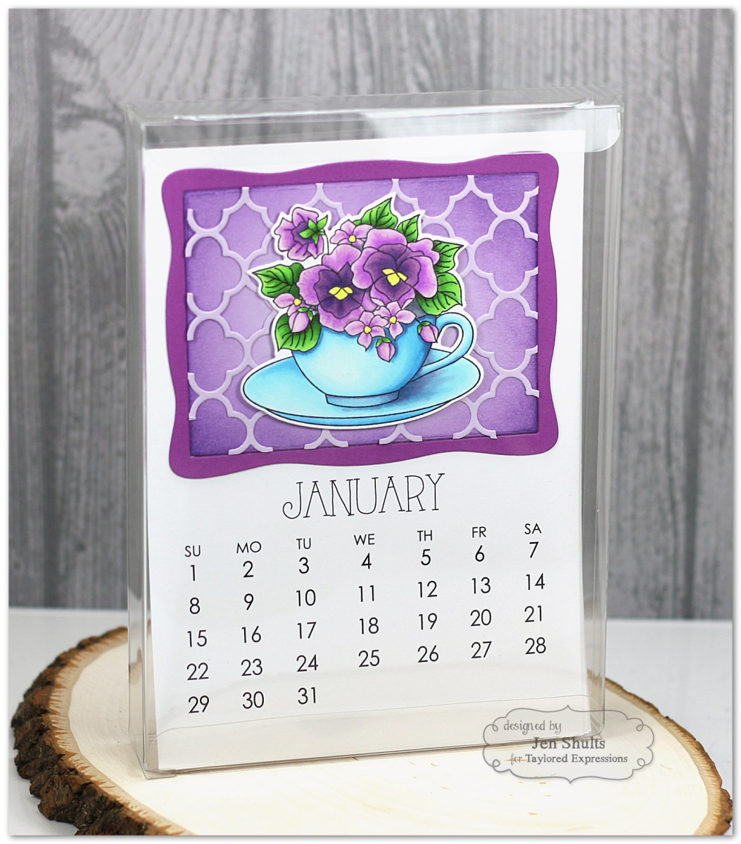 TE Sneak Peeks: Flower Bouquet Calendar