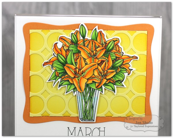 Flower Bouquet 5x7 Calendar by Jen Shults
