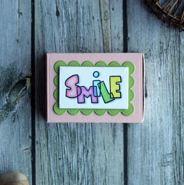Smile Matchbox by Jen Shults