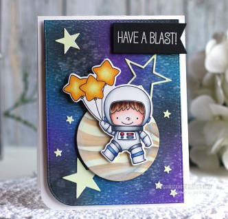 Have a Blast by Jen Shults, stamps from My Favorite Things