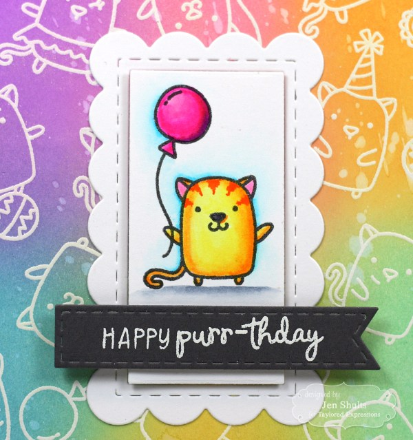 Happy Purr-thday! By Jen Shults