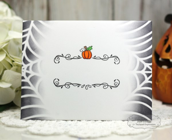 Spooky Mail coordinating envelope