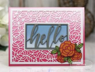 Hello, handmade card by Jen Shults