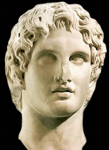Alexander the Great ... The photo is taken from ... http://www.historyofmacedonia.org/AncientMacedonia/AlexandertheGreat.html