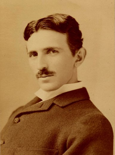 Nikola Tesla around 1890., when he was about 34 years of age. Photo Credit-Author … Napoleon Sarony. The photo is taken from … https://commons.wikimedia.org/wiki/File:Tesla_Sarony.jpg