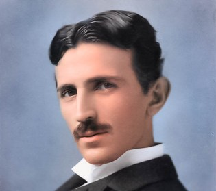 Nikola Tesla, The photo is taken from ... https://www.spectator.co.uk/2018/06/the-electrifying-genius-of-nikola-tesla/