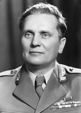 Josip Broz Tito ... Photo is taken from ... https://alchetron.com/Josip-Broz-Tito-1293044-W