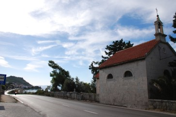 Church of St. Martin, and the wall with stone slabs inscriptions ... Photo credit ... https://www.petrus.sk/ ...