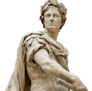 Julius Caesar. The photo is taken from ... https://www.kisspng.com/png-assassination-of-julius-caesar-roman-empire-ancien-4842890/download-png.html
