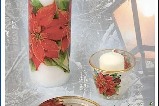 DIY - Karácsonyi gyertya - MiniMaLista 9