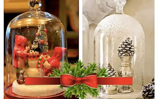 37 karácsonyi dekorációs ötlet – üveg harang