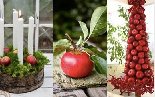34 dekorációs ötlet egy gyümölcsre - alma
