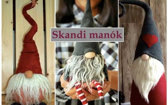 36 karácsonyi ötlet - skandi manók