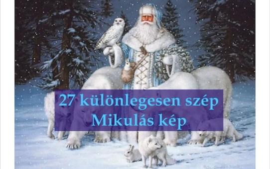 27 különlegesen szép Mikulás kép