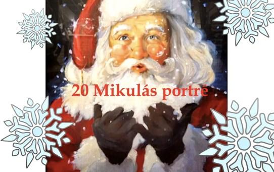 20 Mikulás portré