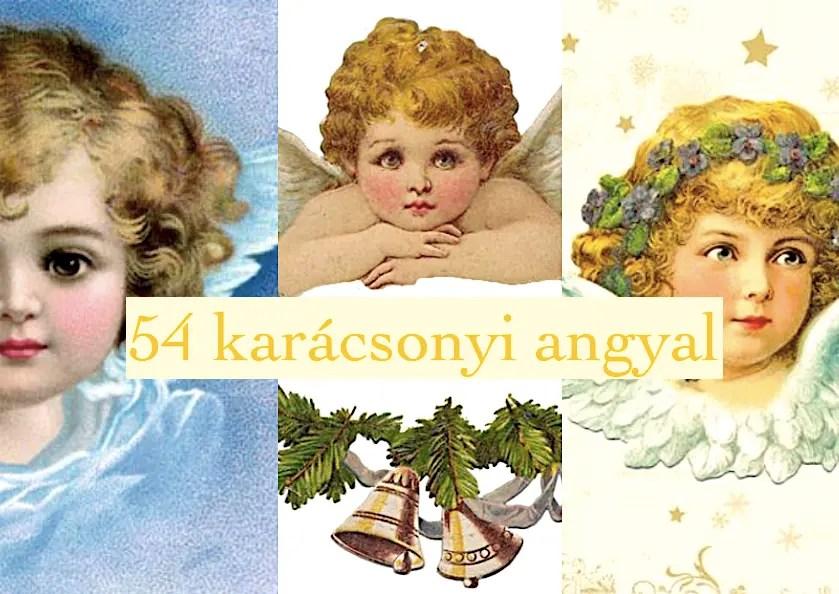54 karácsonyi angyal