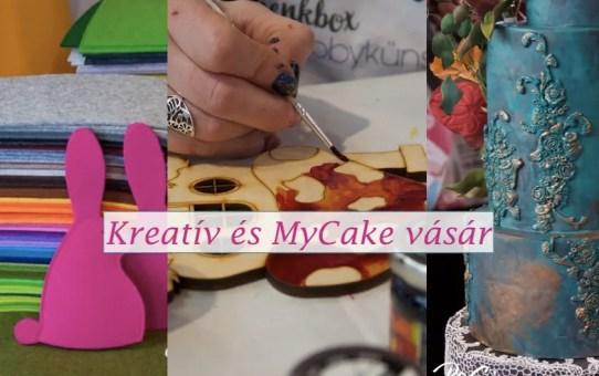 Kreatív és MyCake vásár - Friedrichshafen 2018