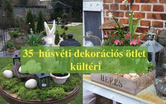 35  húsvéti dekorációs ötlet - kültéri