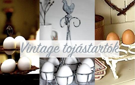 Vintage tojástartók