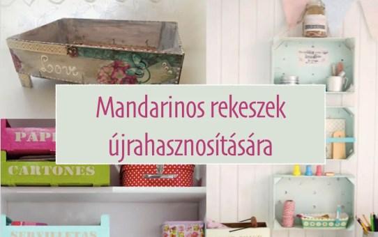 28 szuper ötlet - mandarinos rekeszek újrahasznosítására