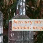 Mercury mirror pálinkás üvegem