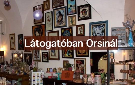 Látogatóban Orsinál -  Hobbykünstler Shop 2016