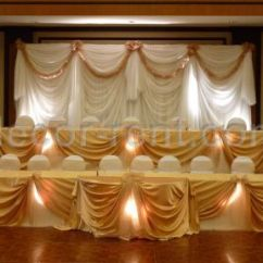 Gold Chair Covers To Rent Ergonomic Godrej Wedding Backdrops Toronto | Decor Rentals Linen Rental