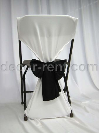 Folding Chair Back Cover Rentals Toronot Rent Folding Chair Covers Linen Rentals Toronto