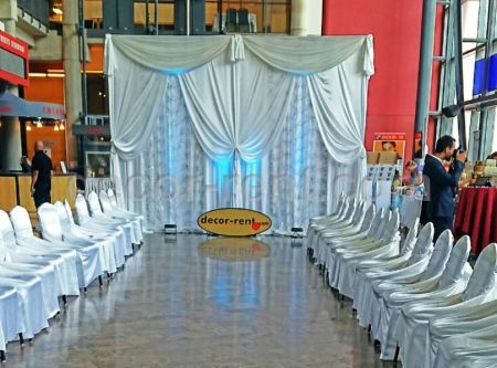 chair covers for rent toronto black skull cover rentals | linen wedding decor