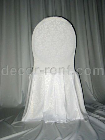 where to buy chair covers in toronto leather parson chairs rent damask linen rentals oshawa barrie white floral banquet cover by ap creations
