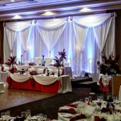 Chair Cover Rentals Durham Region Fishing Low Toronto Wedding Backdrops Decor Linen Covers