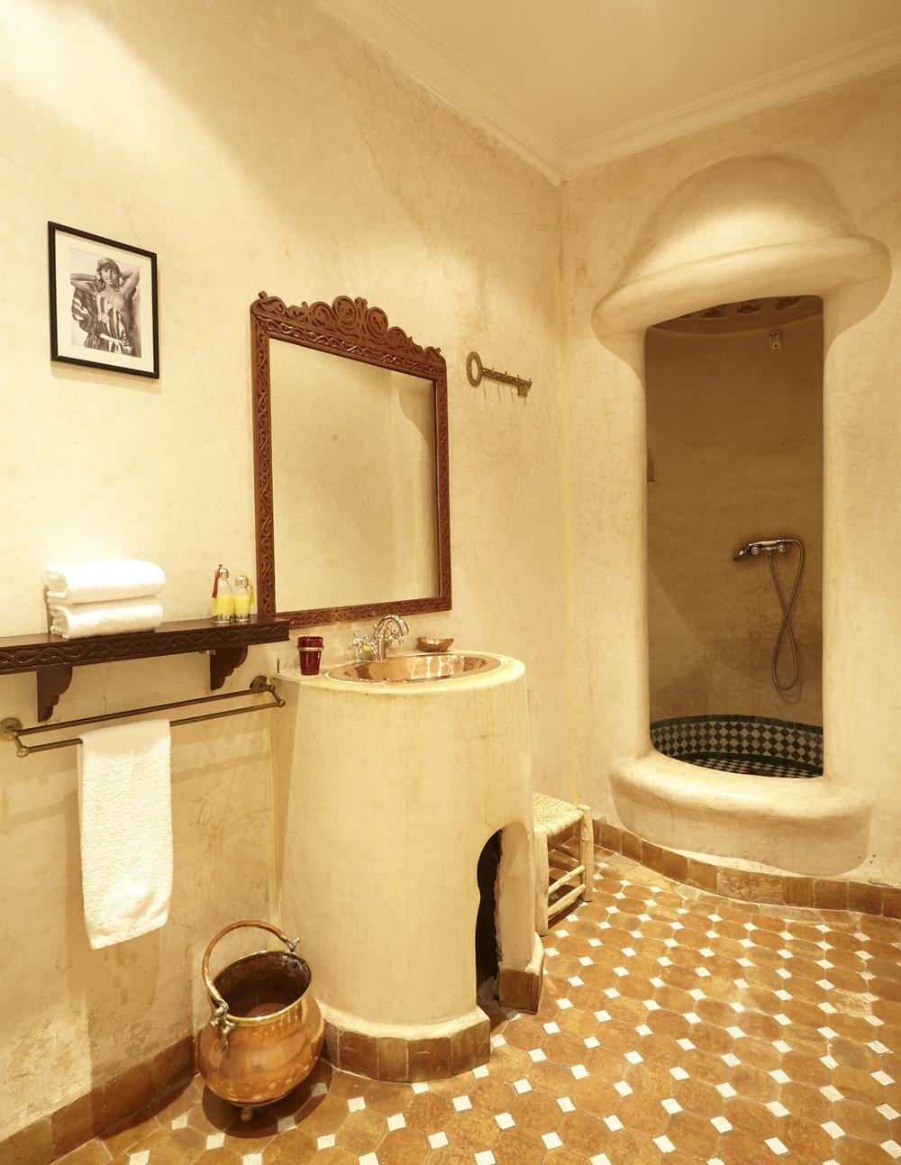 Salle De Bain Marocaine Tadelakt