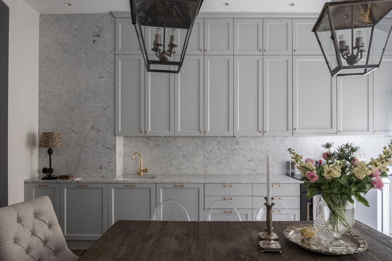 кухонная мебель мрамор