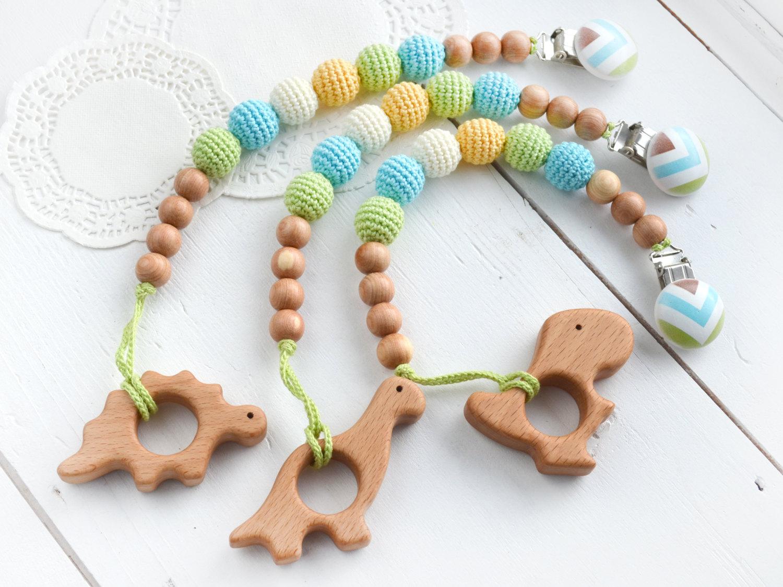 Dinosaur teething toy
