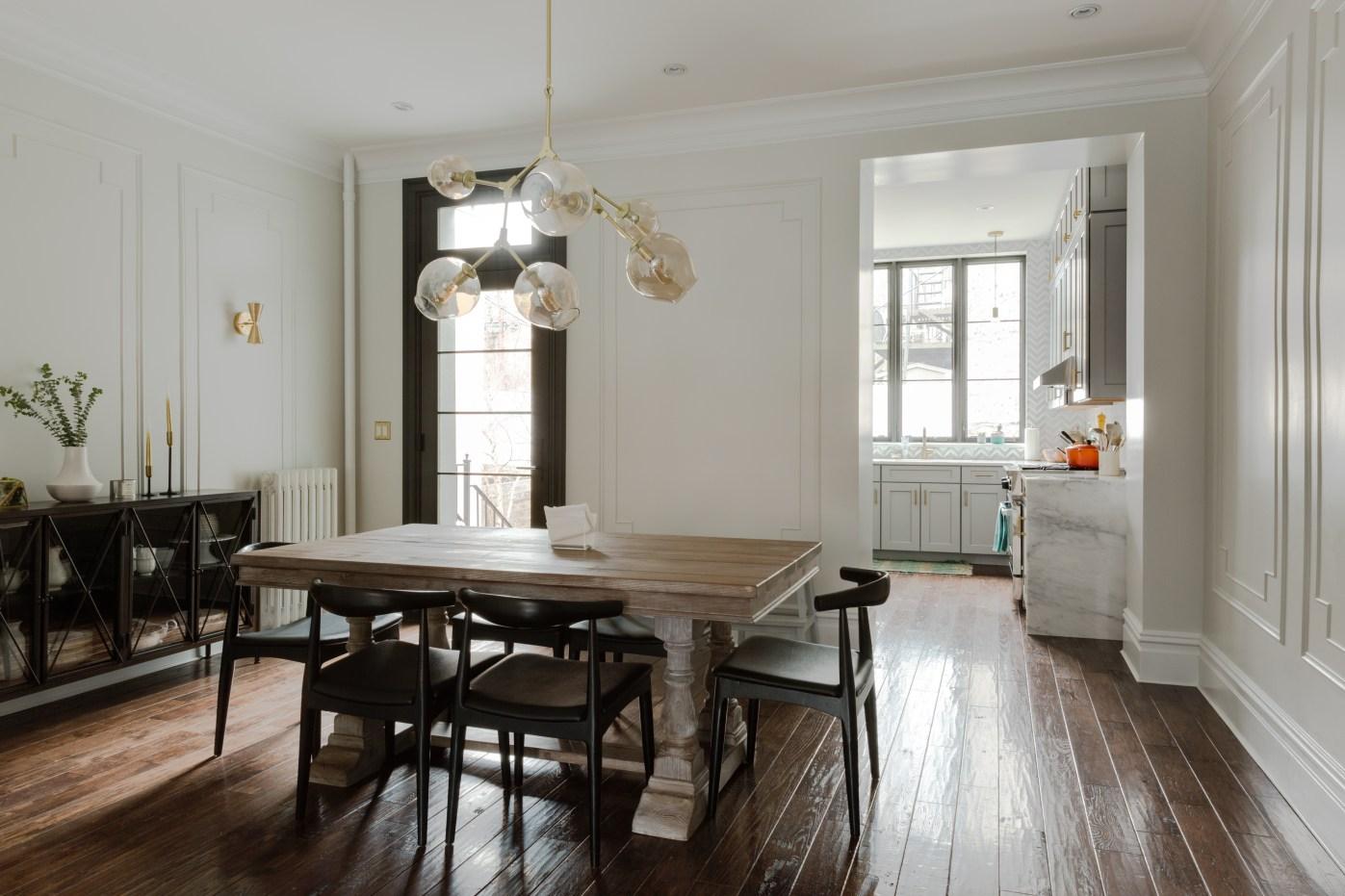 столовая деревянный стол