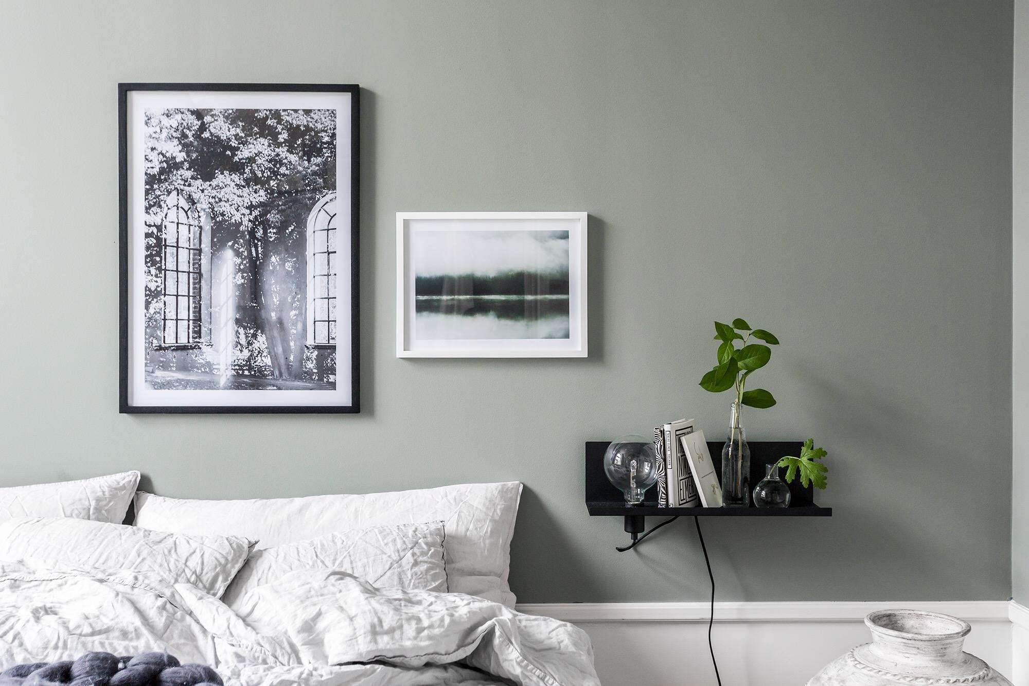 спальня высокий плинтус картины