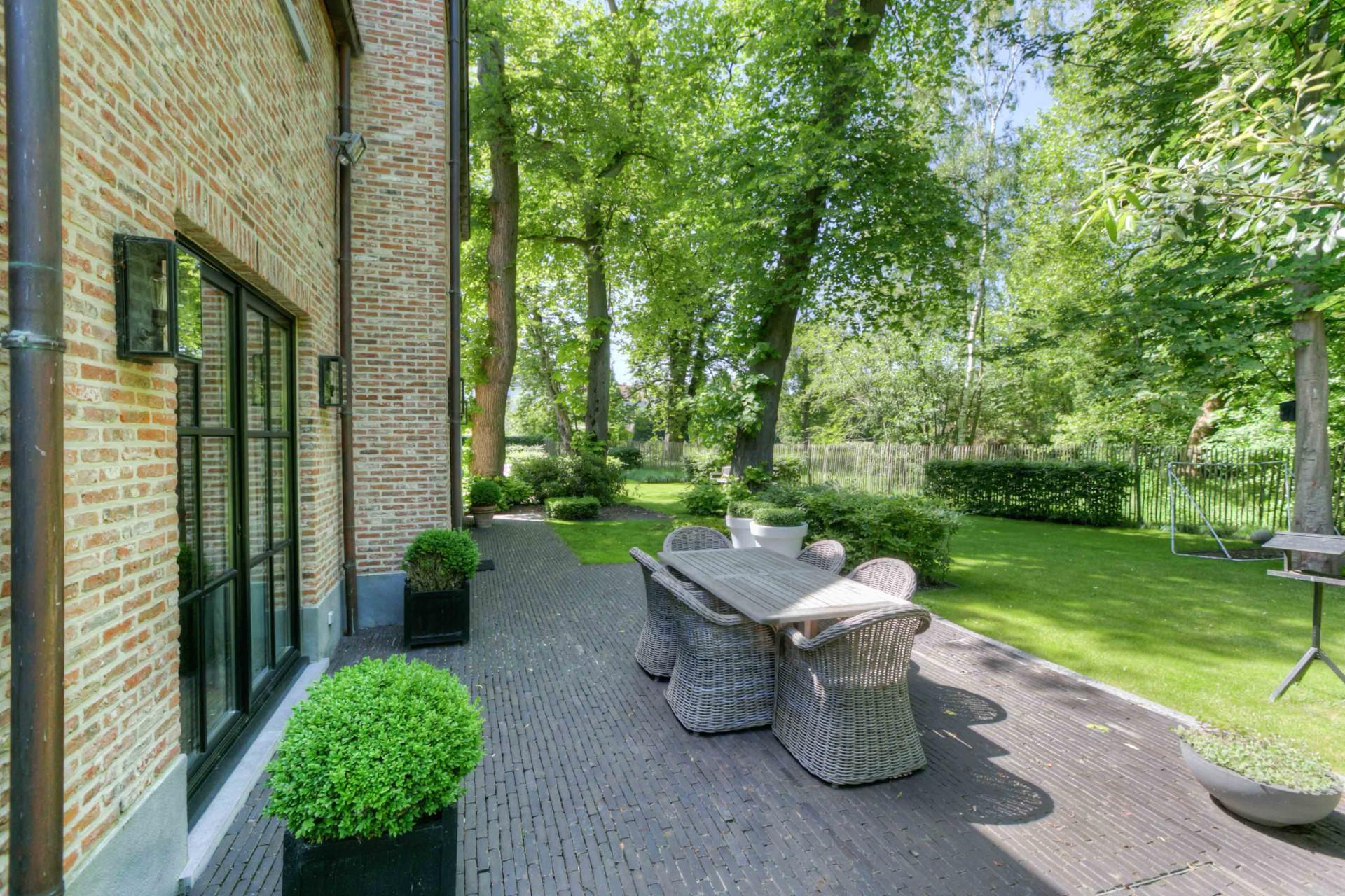 терраса садовая мебель